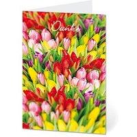 LUMA Dankeskarte Tulpen DIN B6