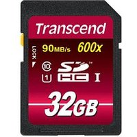 Transcend - carte mémoire flash - 32 Go - SDHC UHS-I