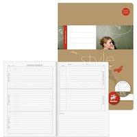 Staufen® Hausaufgabenheft Style Lineatur Sonderlineatur liniert Rand rundum