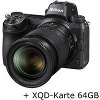 Nikon Z 7 mit Z 24-70 mm 1:4 S und XQD-Karte 64GB