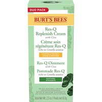 Burt's Bees 100% Natural Multipurpose Res-Q Ointment and Cream Twin Pack