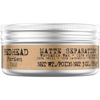 Bed Head for Men by Tigi Matte Separation Mens Hair Wax for Firm Hold 85g