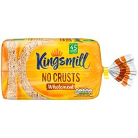 Kingsmill No Crusts Wholemeal Bread 400g
