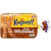 Kingsmill Tasty Wholemeal Bread Thick 800g