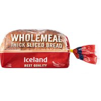 Iceland Thick Sliced Wholemeal 800g