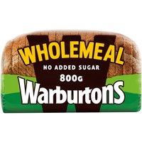 Warburtons Wholemeal 800g