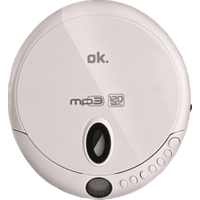 OK OPC 310-W PORTABLE CD-PLAYER WHITE Tragbarer CD Player (Weiss)
