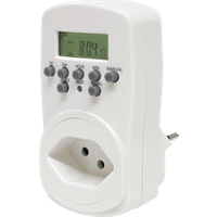 Steffen Timer Power numérique - (Blanc) (1204422)