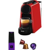 De-Longhi Essenza Mini En85.r - Nespresso Maschine (Red)