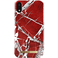 iDeal of Sweden Hard Cover Scarlet Red Marble Coque