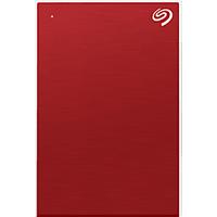 SEAGATE Backup Plus Slim Disque dur ( 2 TB, Rouge)