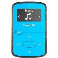Lecteur MP3 Sandisk Sansa Clip Jam 8 Go Bleu