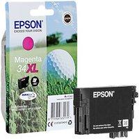 Original Epson 34XL High Capacity Cyan Ink Cartridge