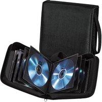 hama 20er CD-/DVD-Tasche Wallet schwarz