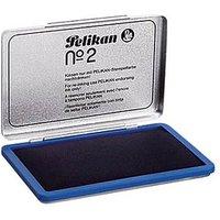 PELIKAN Metall-Stempelkissen blau 331017 Gr.2 11x7cm