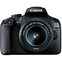 Canon EOS 2000D Starter Kit 18-55 IS II -Slr Kamera