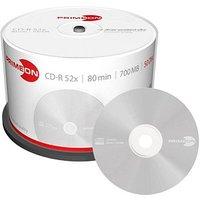 CD-R 80 700 Mo Primeon 2761102 50 pc(s) tour surface gris métallisé mate