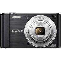 SONY DSC-W810 Digitalkamera schwarz 20,1 Mio. Pixel