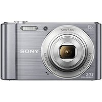 SONY DSC-W810 Digitalkamera silber 20,1 Mio. Pixel