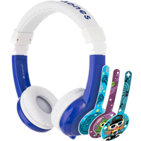 onanoff BuddyPhones Explore Headset|BP-EX-FD-BLUE-01-K