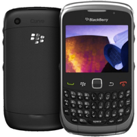 Blackberry Curve 9300 Good - Black - T-mobile Orange - Qwerty