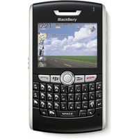 Blackberry 8800 Pristine - Black - Unlocked - Azerty