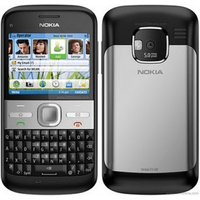 Nokia E5 Good - Black - T-mobile Orange