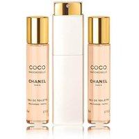 CHANEL Coco Mademoiselle EDT Twist & Spray 60ml (3x20ml)  women