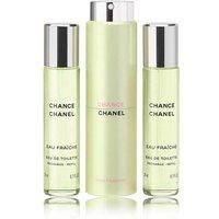CHANEL Chance Eau Fraiche EDT Twist & Spray 60ml (3x20ml)