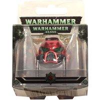 Llavero Metal Space Marine Mkvii Helmet Blood Angels Warhammer 40k