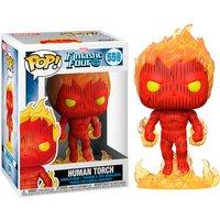 Figura Pop Marvel los 4 Fantasticos Human Torch