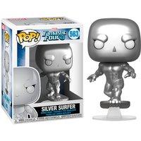 Figura Pop Marvel los 4 Fantasticos Silver Surfer