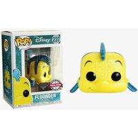 Figura Pop Disney The Little Mermaid Flounder Glitter Exclusive