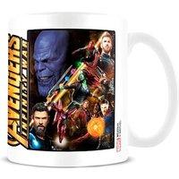 Taza Infinity War Vengadores Avengers Marvel