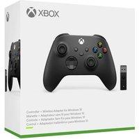 Mando Xbox Negro + Adaptador Windows 10
