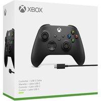 Mando Xbox Negro + Cable USB