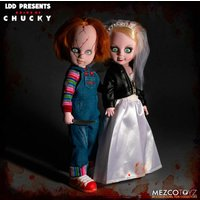 Pack Figuras Chucky and Tifanny Living Dead Dolls 25cm