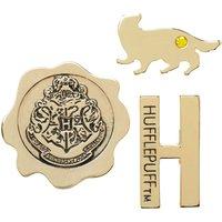Pack 3 Pin Hufflepuff Harry Potter