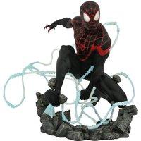 Estatua Resina Miles Morales Spiderman Marvel Comic Premier Collection 23cm