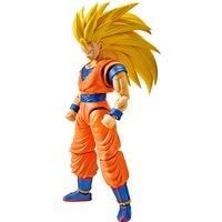 Figura Super Saiyan 3 Son Goku Model Kit Dragon Ball Z 14cm