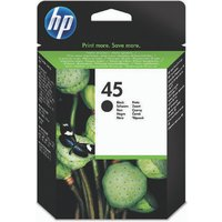 Image of HP 45 Black Inkjet Cartridge 51645AE