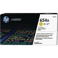 Image of HP 654A Yellow LaserJet Toner Cartridge CF332A