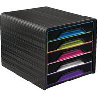 Image of CEP Smoove 5 Drawer Module Black/Assorted 1071110411