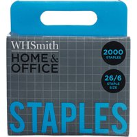 'Whsmith Home & Office Staples 26/6 (pack Of 2000)