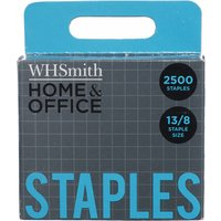 'Whsmith Home & Office Staples 13/8 (pack Of 2500)
