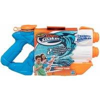 'Nerf Super Soaker Twin Tide Water Blaster Gun Outdoor Garden Toy