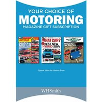 Your Choice of Motoring Magazine Subscription Gift Pack
