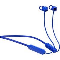 Image of Skullcandy Jib+ Bluetooth Wireless Earbuds with Microphone Blue In-Ear Headphones