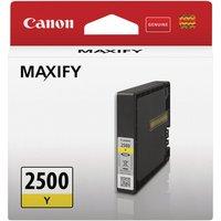 Image of Canon PGI-2500 Y Ink Cartridge Yellow 9303B001