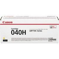 Image of Canon 040H Yellow High Yield Toner Cartridge 0455C001